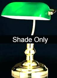 banker lamp shade replacements lovely green glass lamp shade for glass lamp globes replacement bankers desk