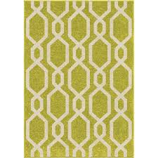 orian rugs cascades lime green indoor outdoor kids throw rug common 4 x