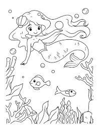 These half woman, half fish creatures have been part of legends of sailors for centuries that it is difficult today to know the origin. 57 Mermaid Coloring Pages Free Printable Pdfs