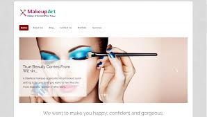 makeup artist websites templates some awesome and creative makeup website templates