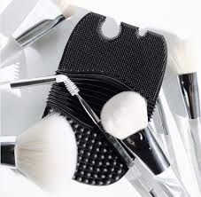 you can now e l f cosmetics super affordable brush cleaning glove
