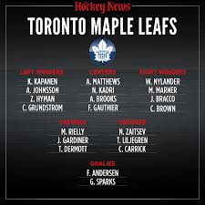 Toronto Maple Leafs Depth Chart 2020 Vision What The Toronto Maple Leafs Will Look Like In
