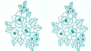 Floral Sketch Designs Pencil Design Drawing At Getdrawings Com Free For Personal