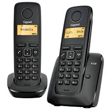 gigaset a120 eco dect cordless phone duo pack