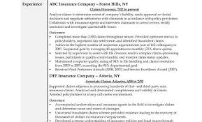 Staff Adjuster Sample Resume Gorgeous Farmers Insurance Adjuster Sample Resume Colbroco