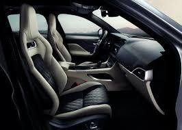 interior image jaguar f pace svr