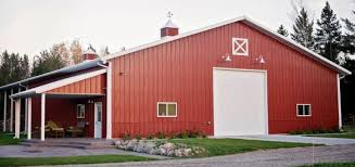 laramie barn lights add traditional touch to metal blog pole barn exterior