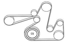 2011 kia forte serpentine belt diagram vehiclepad 2011 kia 2013 kia forte l4 2 4l serpentine belt diagram serpentinebelthq com