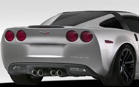 109342 | Chevrolet Corvette C6 Duraflex Stingray Look Window Rails ...