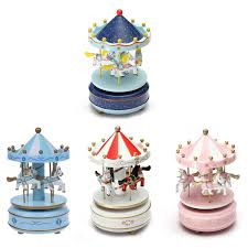 image is loading al carousel horse wooden carousel box toy