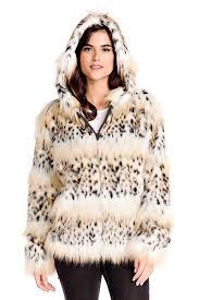 bobcat hooded faux fur parka 1