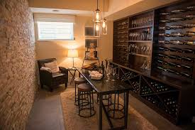 home wine room lighting effect. Not Sure If You Want An Entertaining Wine Cellar Or Secluded Sitting Room? This One Is Inspiration For How To Achieve The Best Of Both Worlds In A Smaller Home Room Lighting Effect T