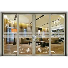 china made in china professional powder coated bullet proof aluminum security sliding door
