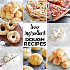 Light Brown Self Raising Flour Two Ingredient Dough Recipes The Gunny Sack