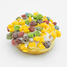 image of the oh capn my capn doughnut a raised yeast doughnut with