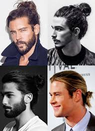 boys hairstyles man bun