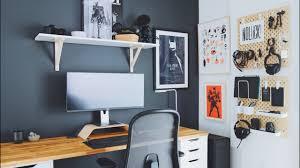 Home office designer Contemporary workspace desksetup officemakeover California Closets Diy Home Office And Desk Tour Designers Workspace Youtube
