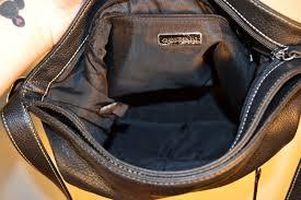 vintage giani bernini soft leather black purse shoulder bag