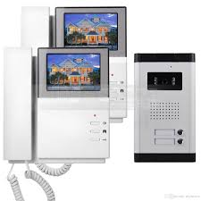 front door intercom43 Apartment Video Door Phone Video Intercom Doorbell System 700