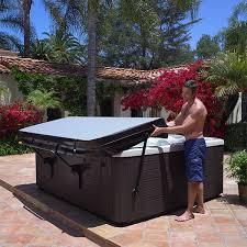 image caldera spas prolift iii hot tub cover lifter