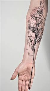 Creative Tattoos Womens Sleeve Tattoo Ideas Black And White Girl