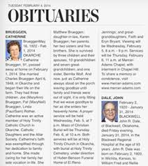 sample of obituary obituary layout templates franklinfire co
