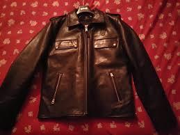 brand new never worn schott boston police jacket