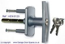 garage door lock handle. Locking \u0027T\u0027 Handles To Suit Most Makes Of Door Garage Lock Handle N