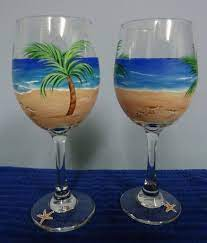 Pin by Rosalinda Lutz on Hand Painted Wine Glass Ideas | Wine glass crafts,  Wine glass designs, Hand painted wine glass