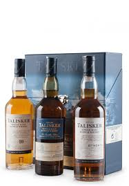 whisky clic malts collection talisker triple pack 3x20cl