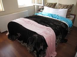 quilt sets king size quilt velvet bedding pink blue black color combine in thin square