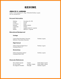 Format For Resume Resume Reference Format Resume Format For References jobsxs 46