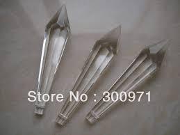 200pcs lot 80mm crystal prism t crystal chandelier parts crystal prism drop pendant