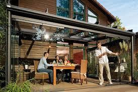 contemporary modern glass outdoor patio design ideas by weinor