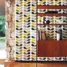 living room orla kiely multi: orla kiely interior orlakiely multi stem living room wallpaper wallpapers kiely wallpaper