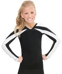 Gk All Star Color Blocking Contour Cheer Uniform Top