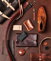 leather men s accessories for fall photograph by ben rollins styling by kim phillips spin style