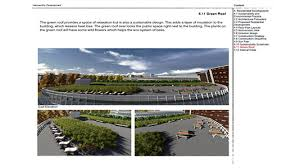 architectural engineering design. Design For A Green Roof Space Architectural Engineering