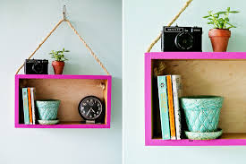 wooden box into a modern hanging