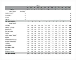Accounting Sheets For Small Business Small Business Accounting Spreadsheet Excel Template Free