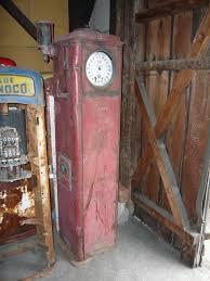gilbarco gas pump. gilbarco clockface gas pump, usa 1928 pump