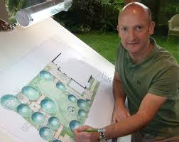 Small Picture Garden Design in Gloucestershire Landscape Designer Andrew