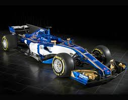f1 new car releaseSauber F1 car launch Striking new 2017 blue and gold livery