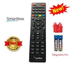 Điều khiển đầu thu Smart Box VNPT - Tặng kèm pin | Điều khiển từ xa Tivi