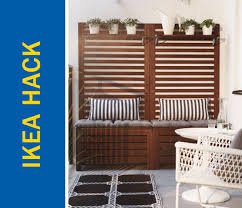 apartment sized furniture ikea. Awesome Ikea Hack Of The Week: An Apartment-sized Patio Bench And Trellis Apartment Sized Furniture