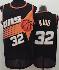 Nba Stitched Black Suns Kidd Throwback Jason Jersey 32