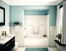 bathroom remodel shower no tub tile designs small bath combo design kitchen bathrooms outstanding bathtub ideas imag