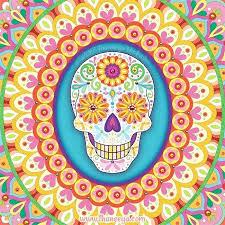 sugar skull paintings sierra art by face paint tutorial canvas
