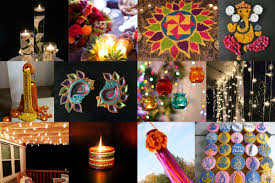 diwali decoration ideas with diyas rangoli candles and lights