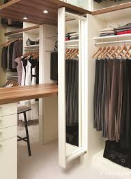 slide out mirrors make custom closets easier to use innovate home org columbus ohio